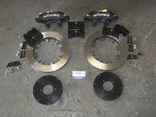 Escort Wilwood Superlite 4 Pot Brake Set Up 310mm Vented Brake Kit + rear kit