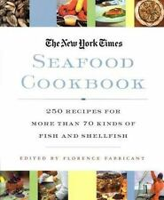 The New York Times Seafood Cookbook: 250 Recipes for More than 70 Kind-ExLibrary