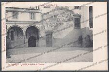 BERGAMO CLUSONE 39 DANZA MACABRA - VAL SERIANA Cartolina primi '900