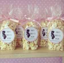 X30 Filled Ready To Pop Popcorn Favour bags/cones favours baby Shower Game Gift