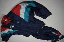 Adidas Trainings Anzug Jogging Sweat Track Suit Nylon Glanz Shiny Vintage D 6 M