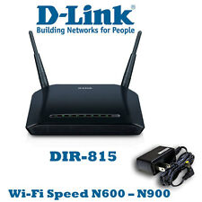 D-Link Xtreme N DIR-815 600Mbps Wireless-N Dual-Band 4-Port Router w/Firewall