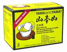 Paquete de 4 YamaMotoYama Aluminio Hojicha Tostados Té Verde 48g 16 bolsitas té