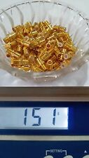 150g Gold Scraps Pins Mix For Recovery All Gold Plated Connectors 5.31oz