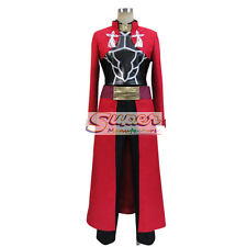 Fate Zero Fate stay night Unlimited Blade Works Archer Uniform Cosplay Costume