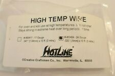 High Temp Stamen Wire for Glass fusing 24 ga.