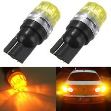 2x T10 194 168 501 W5W Ambre 5050 LED Xenon Wedge Feux Tail Clignotant Voiture