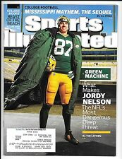 SPORTS ILLUSTRATED DECEMBER 1, 2014 JORDY NELSON GREEN BAY PACKERS