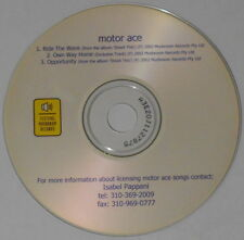 Motor Ace  Ride the Wave + 2  2003 U.S. promo cd