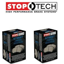 Lexus GS350 GS450H IS350 06-13 Front and Rear Street Brake Pads Set Kit StopTech
