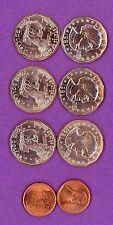 BU 1981-P, 1981-D, 1981-S, SUSAN B. ANTHONY DOLLAR Coin Set..Very LOW Mintage-BU