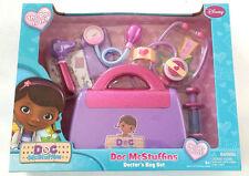 NEW in box Doc McStuffins Doctors Bag Set 7 pieces Disney Jr