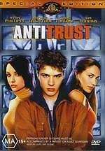 ANTITRUST - RYAN PHILLIPPE TIM ROBBINS THRILLER NEW DVD MOVIE SEALED