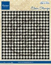 Marianne Design Clear Rubber Stamps ANJA'S PLAID CS0938  130x130mm *