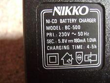 Adaptateur Secteur Chargeur Alimentation 5.8V DC 180mA NIKKO BC-500 /BB28