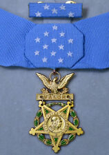 Casd US WW1 WW2 Congressional Medal Order Badge, Army, Ribbon bar, Rare!!