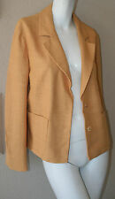 vintage Prada mustard jacket new sz 44 fully lined made in Italy