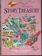 The golden story treasury art tibor gergely hc oversize golden 1951