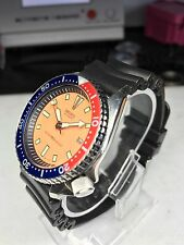 1992 Seiko 7002 700A Large Pepsi Scuba Divers Watch Birthday Serviced Boxed