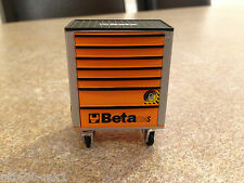 1/18 SCALE TSM BETA TOOL KIT ROLL CAB TOOLBOX MODIFIED GARAGE WORKSHOP DIORAMA
