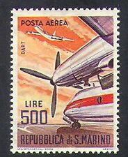 San marino 1963 dart turboprop/avions/avion/aviation/transport 1v (n36631)