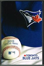 2013 Toronto Blue Jays MLB Baseball Media GUIDE