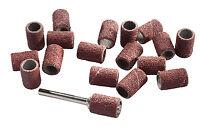 20 Schleifbänder Schleifhülsen 6 mm + Halter für Dremel Proxxon Mini Schleifer