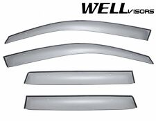WellVisors Clip On Style Smoke Side Window Visors For 03-06 Mitsubishi Outlander