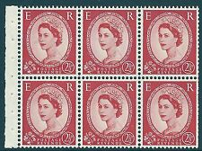 SB81h 2½d Wilding Edward variety - Forehead retouch UNMOUNTED MINT/MNH