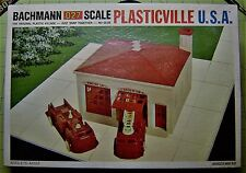 Bachmann,  Plasticvile USA,  Number 1921 Firehouse,  O and O27 Scale Building
