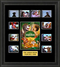 DISNEY THE JUNGLE BOOK 1967  MOUNTED FRAMED 35MM FILM CELL MEMORABILIA