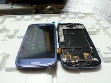 LCD Display Touch Screen Digitizer Assembly For Samsung S3 I9300 - Blue Colour