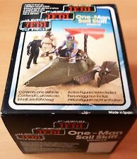 Star Wars MISB Made in Spain Sail Skiff / Kenner Figur Tri Logo Vintage sealed