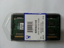 Kingston 8GB DDR3  Laptop 1600 MHZ LOWVOLTAGE