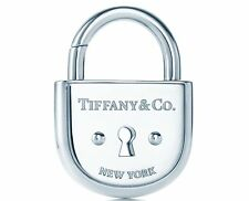 Tiffany & Co New York Silver Large Arc Lock Padlock Charm 4 Bracelet Or Necklace