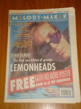 MELODY MAKER 1993 FEB 13 RAGE AGAINST THE MACHINE LUSH