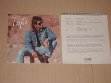 """PETER MAFFAY -Tiefer- 7"""" mit Product Facts Promo-Flyer"""