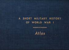 A Short Military History of World War I with Atlas, Stamps & Esposito, 1954 1st