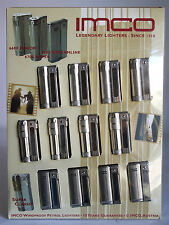 RARE VINTAGE 12 X IMCO LIGHTERS 6600 JUNIOR 6800 STREAMLINE 6700 SUPER NEW NOS !