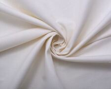 THICK NATURAL OFF WHITE PURE WASHED 100% LINEN UPHOLSTERY CURTAIN CUSHION FABRIC