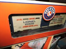LIONEL O SCALE 2002 NEW YORK TOY FAIR  BOX CAR # 6-29904