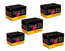New 5 Rolls of Kodak Ektar 100 36 Exposure Color Negative Film Exp 09/2017