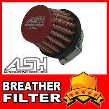 Mini Air Oil Crankcase Vent Breather Filter 25mm RED