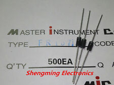 50PCS FR157 1000V 1.5A DO-15 fast recovery rectifier diode