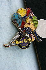 HARD ROCK HOTEL PIN CHICAGO 4TH OF JULY 2011 SEXY GIRL WITH FIREWORKS LE 100