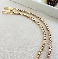 40 CM /15.75 Inch Box bag Chain For Handbag Shoulder Strap Bag Light Golden