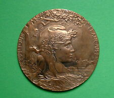 size Bronze medal Expo France 1900 very decorative
