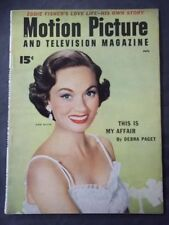Vintage Motion Picture Magazine  July 1954 - Ann Blythe cover