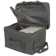 6 Microphone,Equipment & Cable/Leads Transit Carry Bag - Flight Case For Mic