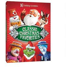 10 Classic Christmas Faves: Dr.Seuss, SantaClaus, Grinch, Frosty, Rudolph + More